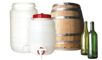 Flessen Vaten Tonnen