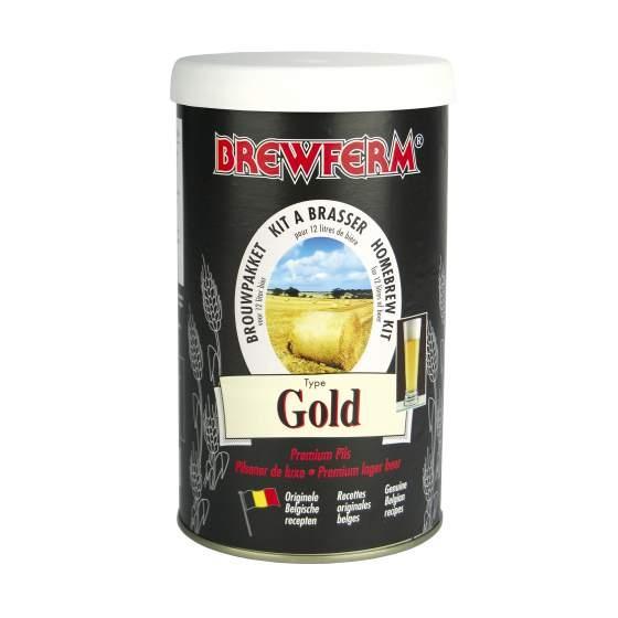 Bierkit BREWFERM gold voor 12 l