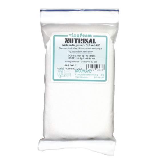 gistvoedingszout VINOFERM nutrisal 250 gram