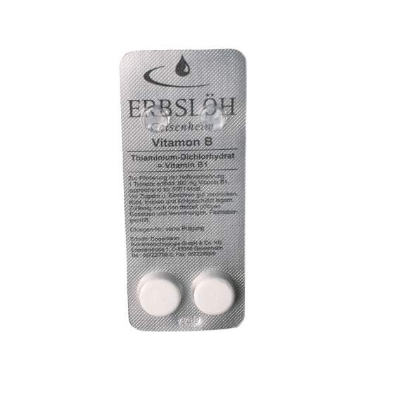 vitamon B erbsloh, 2 tabletten