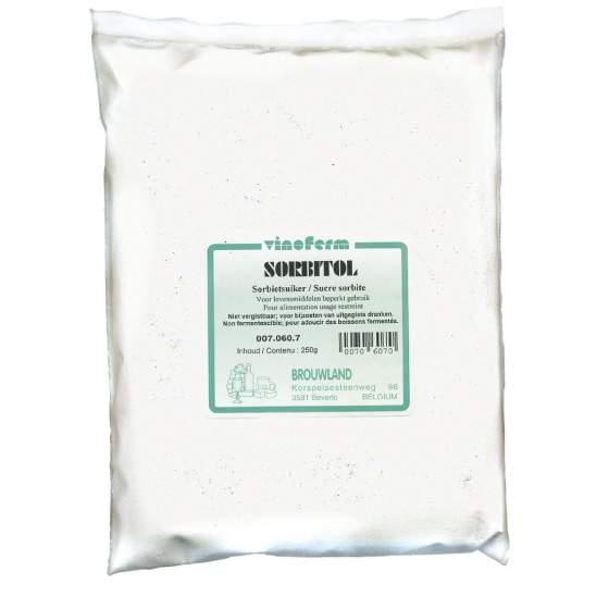 sorbietsuiker VINOFERM sorbitol 250 gr