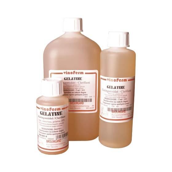 gelatine 20% VINOFERM 1l