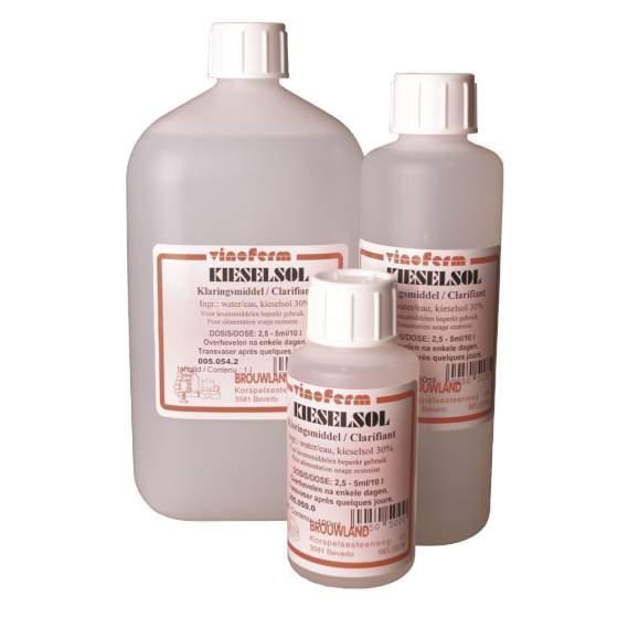 kiezelsolklaring VINOFERM 250 ml