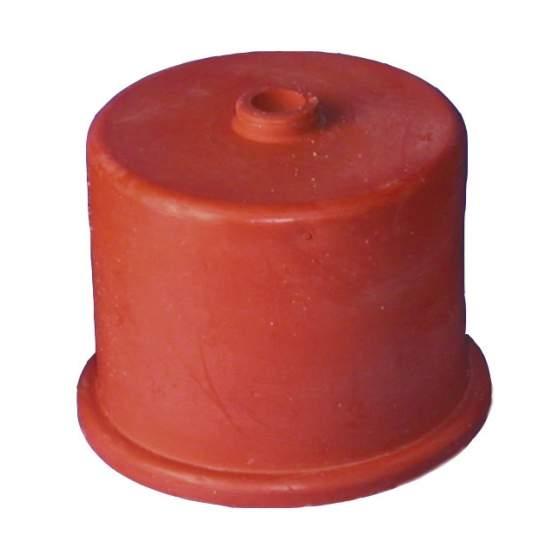 gistkap rubber nr. 4, 40mm, met 9mm gatgistkap rubber nr. 4, 40mm, met 9mm gat