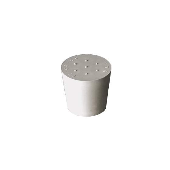 rubber stop grijs D55/47 zonder gat