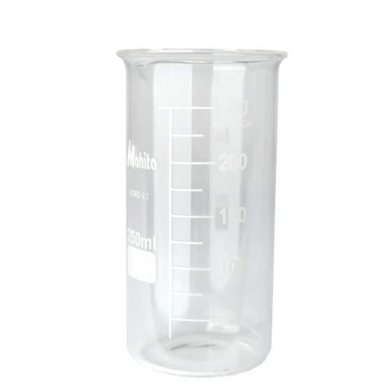 bekerglas 250 ml gegrad. hittebestendig