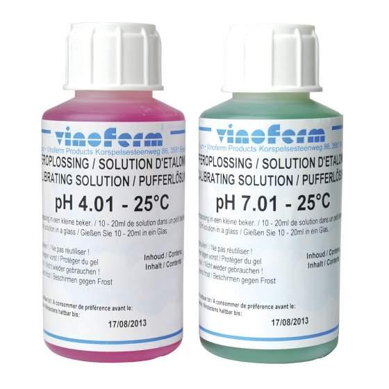 pH-bufferoplossing set 2x100ml