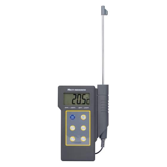 Thermometer digitaal+alarm -50 +300