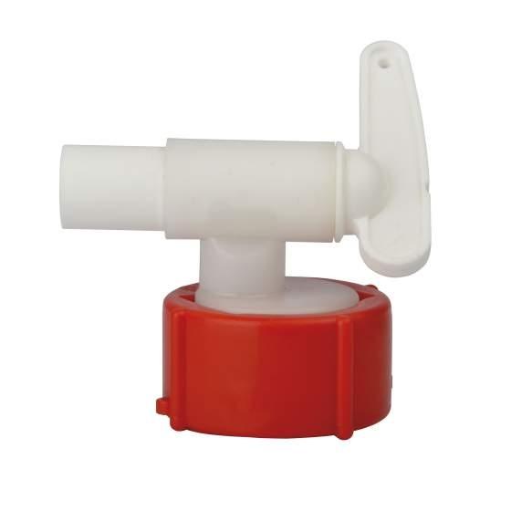 aftapkraan plastic DN18 vr ovale vaten 60-500 l