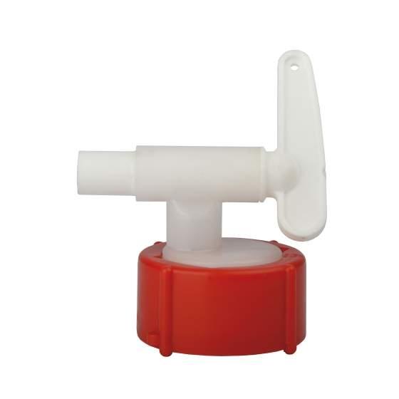 aftapkraan plastic DN8 vr ovale vaten 10-30 l