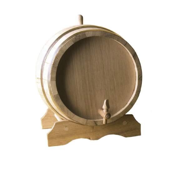 ton decoratief eik met bok en kraan 1,5 l