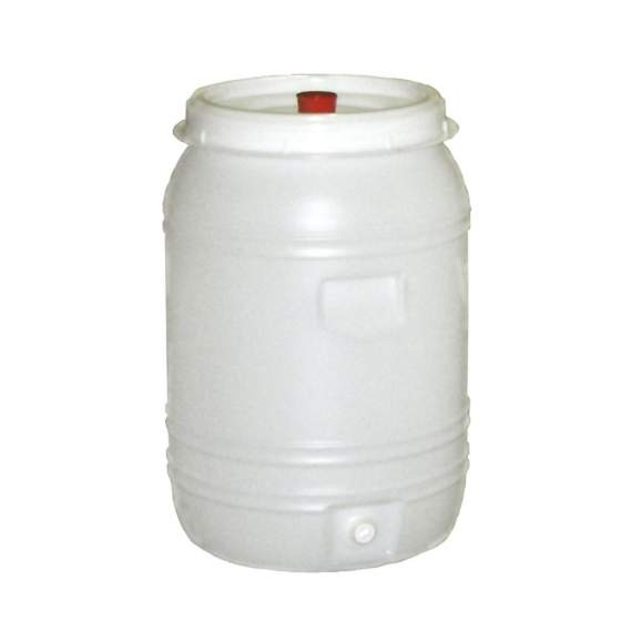 vat plastic rond +kraan+waterslot 60 l