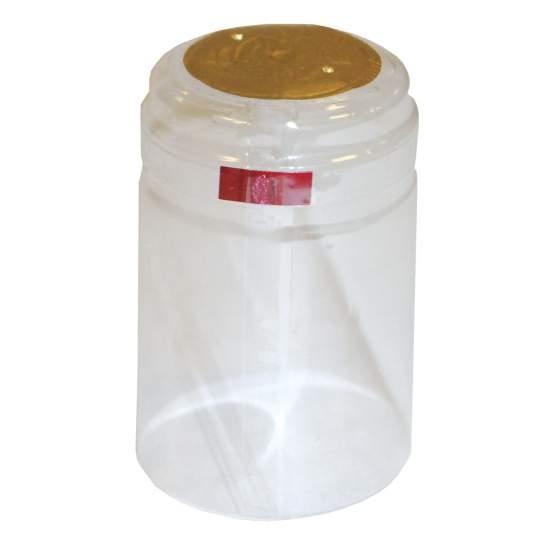 thermo-kapsules transparant 100-stuks