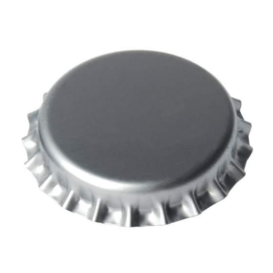kroonkurken 26mm ZILVER 100 stuks