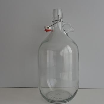 fles 3 liter met oor